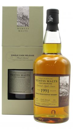 North British - Caramel Apple Sauce Single Cask - 1991 27 year old Whisky