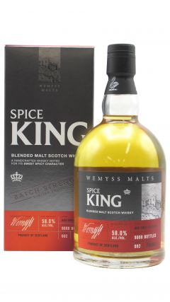 Wemyss - Spice King Cask Strength Batch No. 002 - Blended Malt Whisky