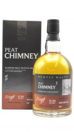 Wemyss - Peat Chimney Cask Strength Batch No. 002 - Blended Malt Whisky