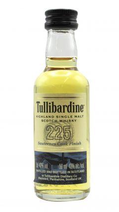 Tullibardine - 225 Sauternes Cask Finish Miniature  Whisky
