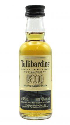 Tullibardine - 500 Sherry Cask Finish Miniature Whisky