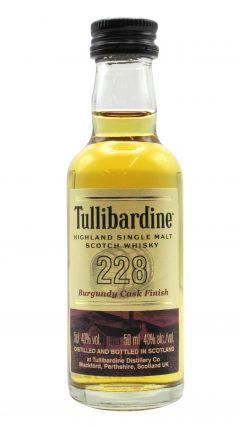 Tullibardine - 228 Burgundy Cask Finish Miniature Whisky