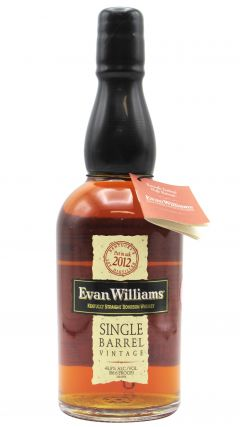 Evan Williams - Single Barrel - 2012 7 year old Whiskey
