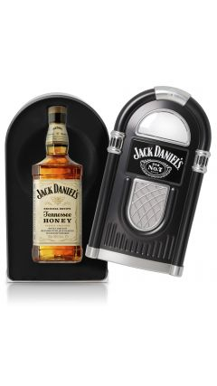 Jack Daniel's - Tennessee Honey Jukebox Case (Hard to Find Whisky Edition) Liqueur