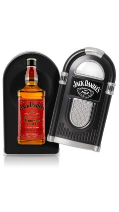 Jack Daniel's - Tennessee Fire Jukebox Case (Hard to Find Whisky Edition) Liqueur