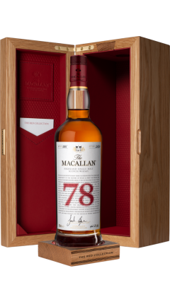 Macallan - The Red Collection -  78 year old Whisky