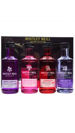 Whitley Neill - Tasting Set (4 x 5cl) - Flavoured Gin