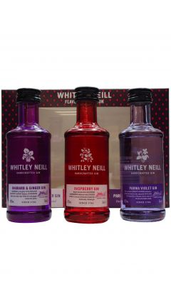 Whitley Neill - Tasting Set (3 x 5cl) - Flavoured Gin