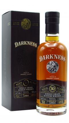 Cambus (silent) - Darkness - Moscatel Sherry Cask Finish 30 year old Whisky