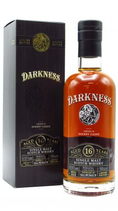 Balmenach - Darkness - Moscatel Sherry Cask Finish 16 year old Whisky