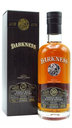 Auchroisk - Darkness - Moscatel Wine Cask Finish 20 year old Whisky