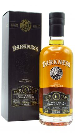 BenRiach - Darkness - Oloroso Sherry Cask Finish 6 year old Whisky