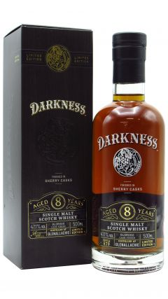 GlenAllachie - Darkness - Oloroso Sherry Cask Finish 8 year old Whisky