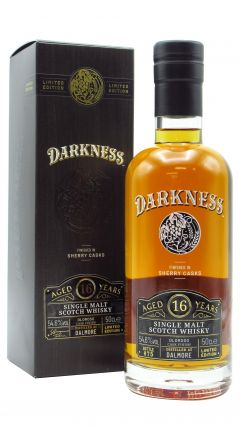 Dalmore - Darkness - Oloroso Sherry Cask Finish 16 year old Whisky
