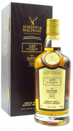 Coleburn (silent) - G&M 125th Anniversary Release - Single Cask #3511 - 1972 47 year old Whisky
