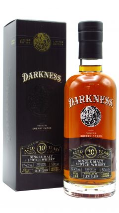 Glen Elgin - Darkness - Moscatel Sherry Cask Finish 10 year old Whisky