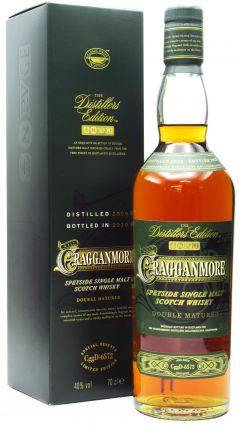 Cragganmore - Distillers Edition 2020 - 2008 12 year old Whisky