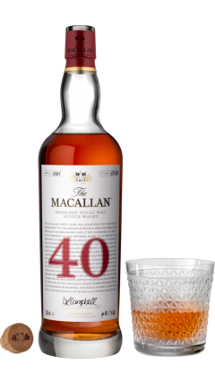 Macallan - The Red Collection -  40 year old Whisky