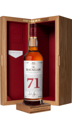 Macallan - The Red Collection -  71 year old Whisky