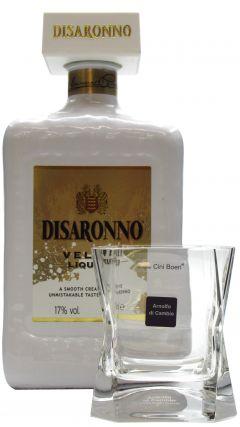 Disaronno - Velvet Liqueur 70cl & 22cl Blade Runner Crystal Glass Liqueur