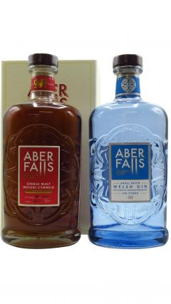 Aber Falls - Bundle (2 x 70cl) Single Malt Inaugural Release Whisky & Aber Falls Small Batch Gin