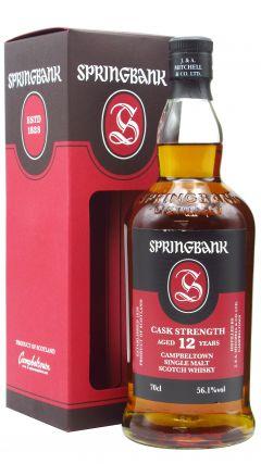Springbank - Cask Strength Batch 21 12 year old Whisky
