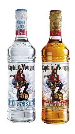 Captain Morgan - White & Spiced Rum