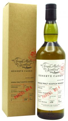 Aultmore - The Single Malts of Scotland - Reserve Cask Parcel No.4 - 2011 9 year old Whisky