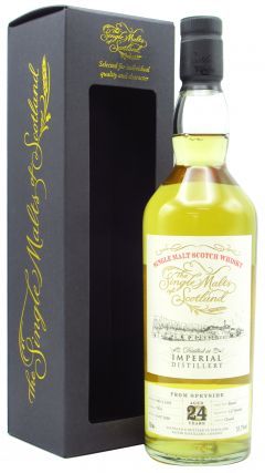 Imperial (silent) - The Single Malts of Scotland - Single Cask #7854  - 1995 24 year old Whisky