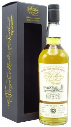 Ben Nevis - The Single Malts of Scotland - Single Cask #1641 - 1996 23 year old Whisky
