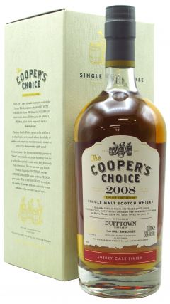 Dufftown - Cooper's Choioce Single Cask #9080 - 2008 10 year old Whisky