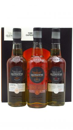 Glengoyne - Time Capsule - 3 x 20cl - 12, Legacy Series 2 & 18 Year Old Whisky