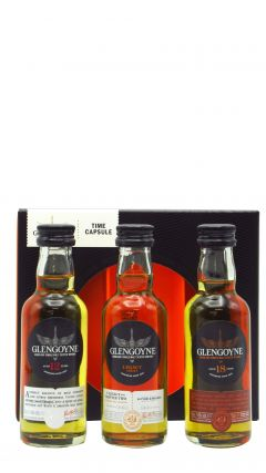 Glengoyne - Time Capsule - 3 x 5cl Miniatures - 12, Legacy Series Chapter 2 & 18 Year Old  Whisky
