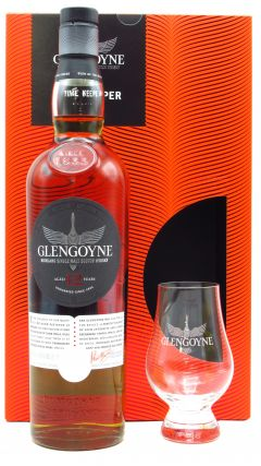 Glengoyne - Time Keeper - Branded Glen Cairn Glass &  12 year old Whisky