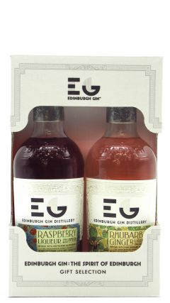 Edinburgh Gin - The Duo - Raspberry and Rhubarb & Ginger Liqueur
