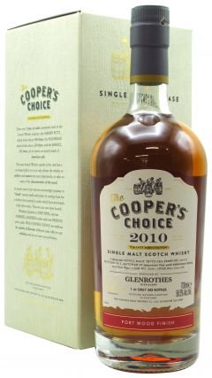 Glenrothes - Cooper's Choice Single Cask #6039 - 2010 9 year old Whisky