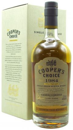 Cameronbridge - Cooper's Choice Single Cask #27682 - 1984 35 year old Whisky