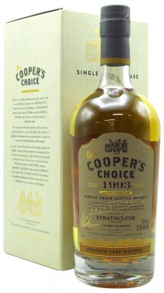 Strathclyde - Cooper's Choice Single Cask #243388 - 1993 26 year old Whisky
