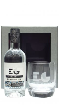 Edinburgh Gin - Glass Gift Pack & 20cl Classic Gin