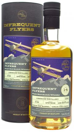 Linkwood - Infrequent Flyers Single Cask # 6144 - 2006 14 year old Whisky
