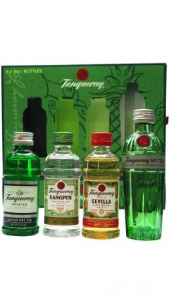 Tanqueray - Exploration Pack 4 x 5cl Gin