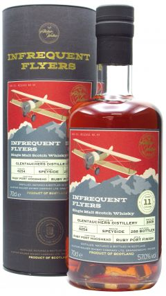 Glentauchers - Infrequent Flyers Single Cask # 6254 - 2009 11 year old Whisky