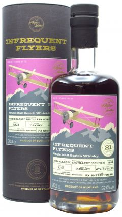 Secret Orkney - Infrequent Flyers Single Cask # 5743 - 1999 21 year old Whisky
