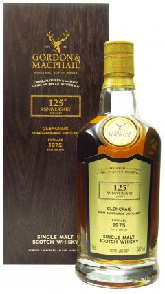 Glencraig (silent) - G&M 125th Anniversary Release - Single Cask #9686 - 1975 44 year old Whisky