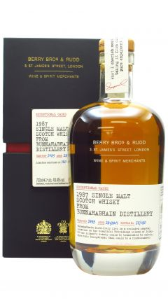 Bunnahabhain - Berry Bros & Rudd Single Cask #2483 - 1987 28 year old Whisky