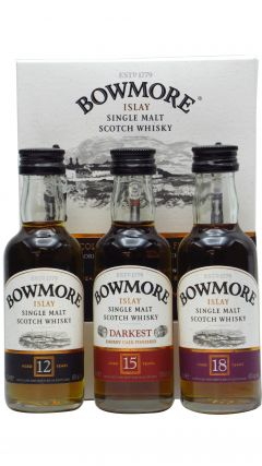Bowmore - Distillers Collection 3 x 5cl Whisky