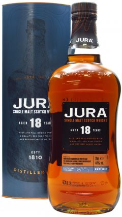 Jura - Single Malt Scotch 18 year old Whisky