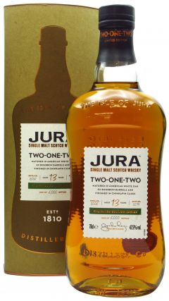 Jura - Two One Two Series #1 13 year old Whisky