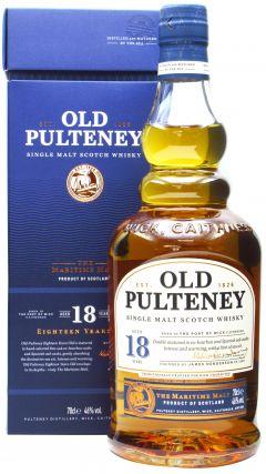 Old Pulteney - Single Malt Scotch 18 year old Whisky