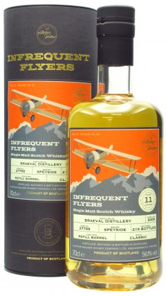 Braeval - Infrequent Flyers Single Cask # 27768 - 2009 11 year old Whisky